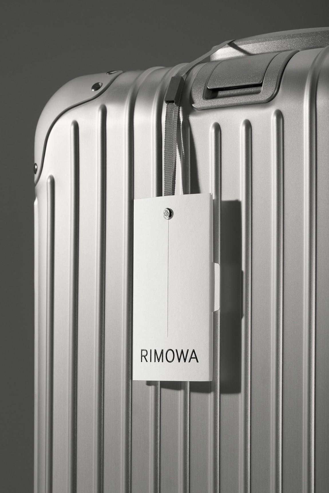 Rimowa豪华箱包国际品牌VI设计, 吊牌设计