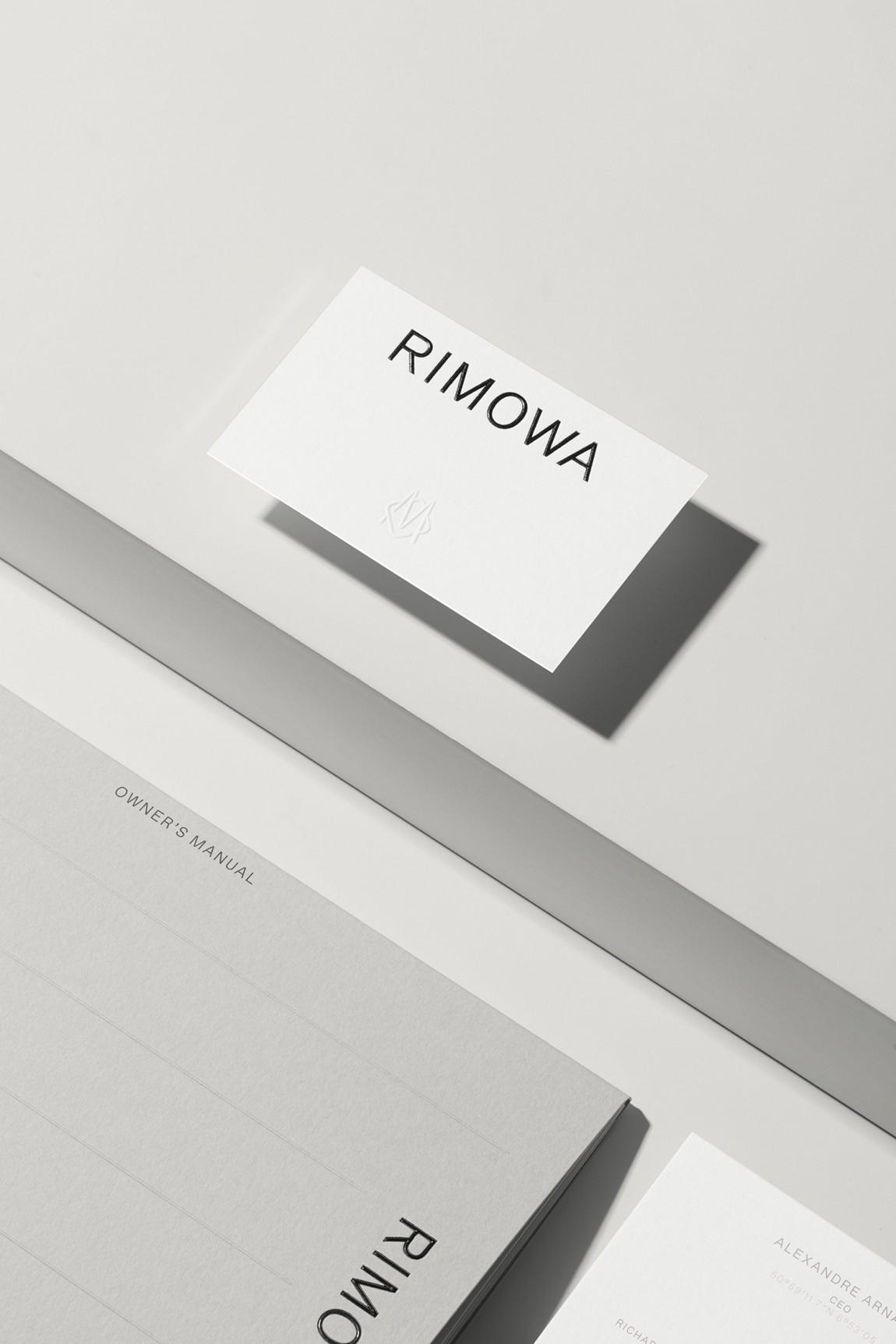 Rimowa豪华箱包国际品牌VI设计,名牌设计