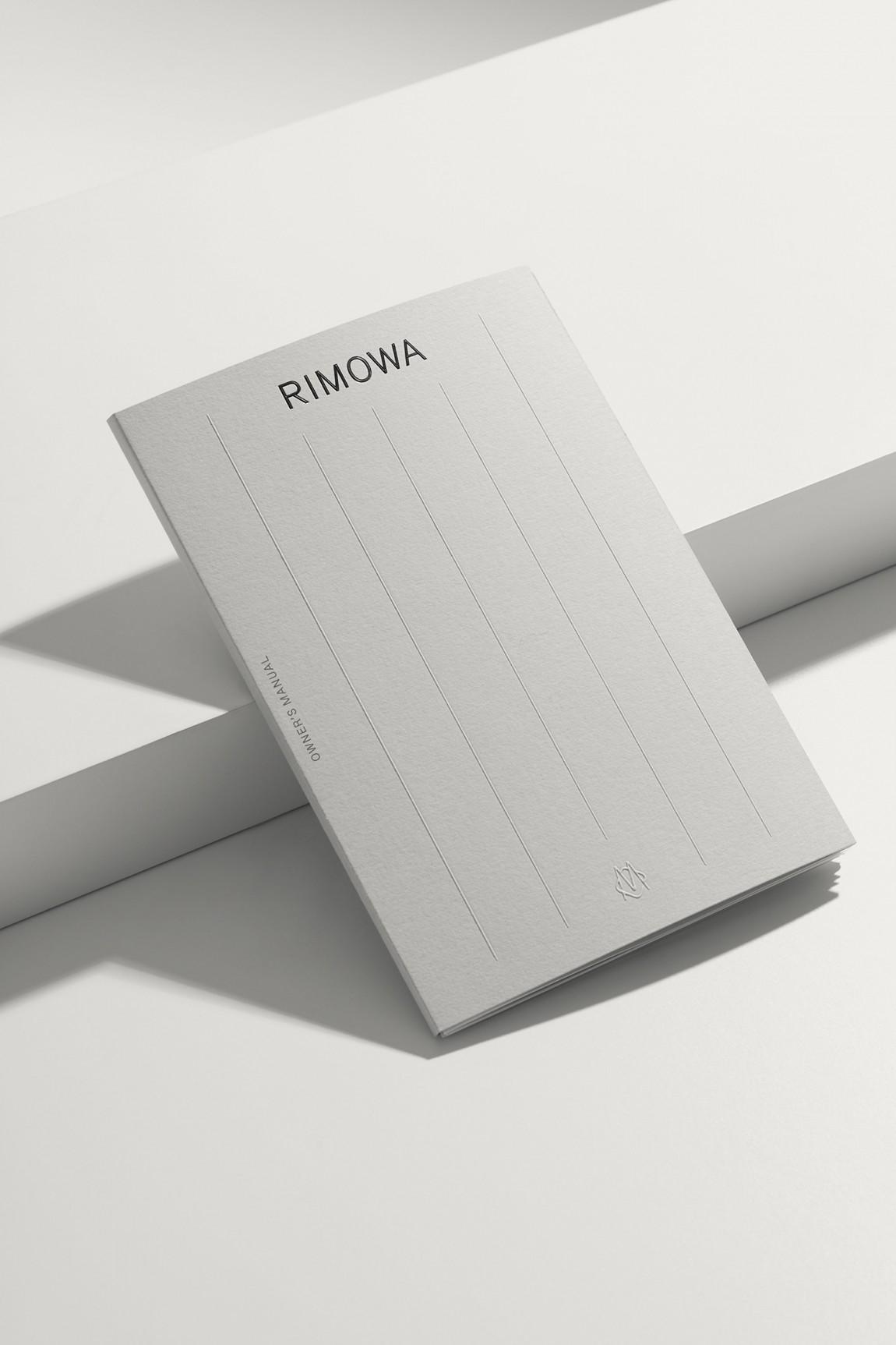 Rimowa豪华箱包国际品牌VI设计, 画册设计