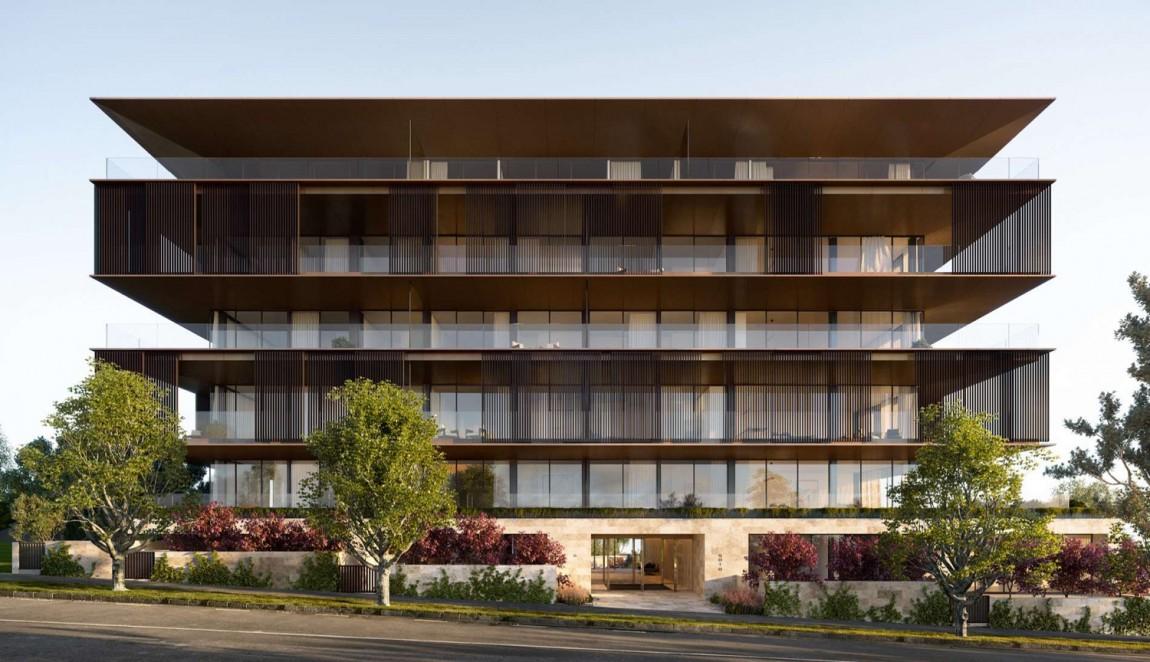 奥克兰Soto房地产vi设计,公寓外景图