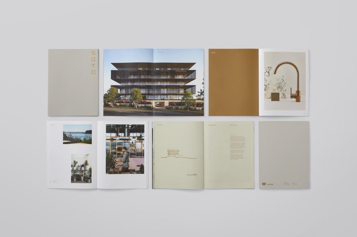 奥克兰Soto房地产vi设计,宣传册设计