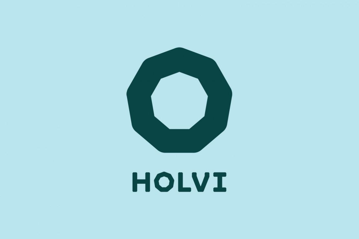 Holvi金融数字银行cis企业形象设计,宣传广告设计,logo设计