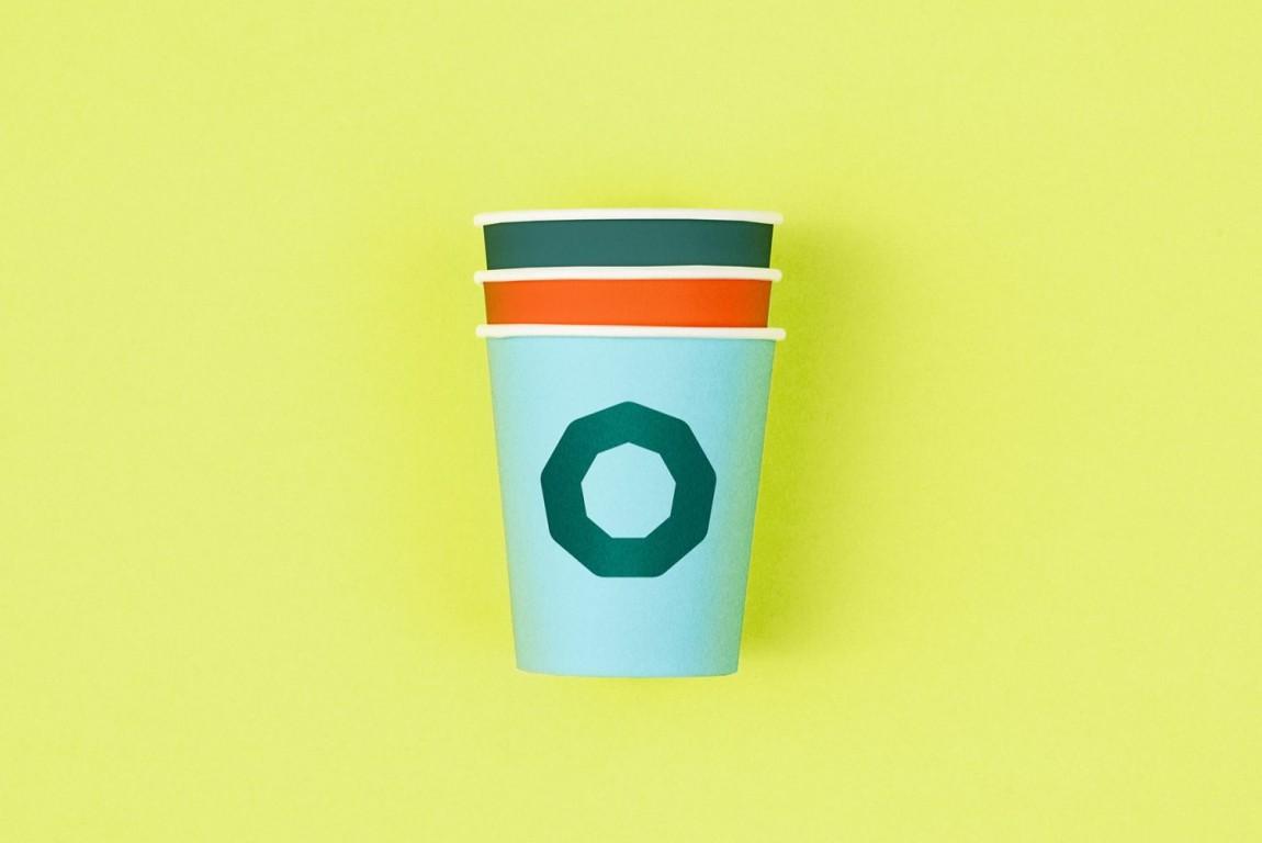 Holvi金融数字银行cis企业形象设计,宣传广告设计,杯子设计