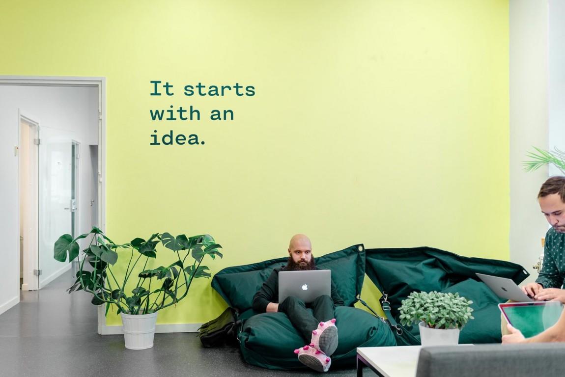 Holvi金融数字银行cis企业形象设计,宣传广告设计,导视设计