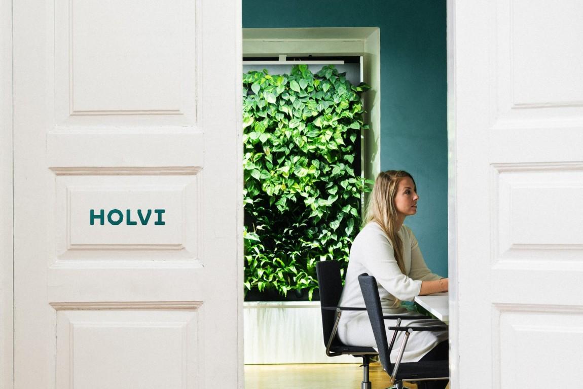 Holvi金融数字银行cis企业形象设计,宣传广告设计,标牌设计