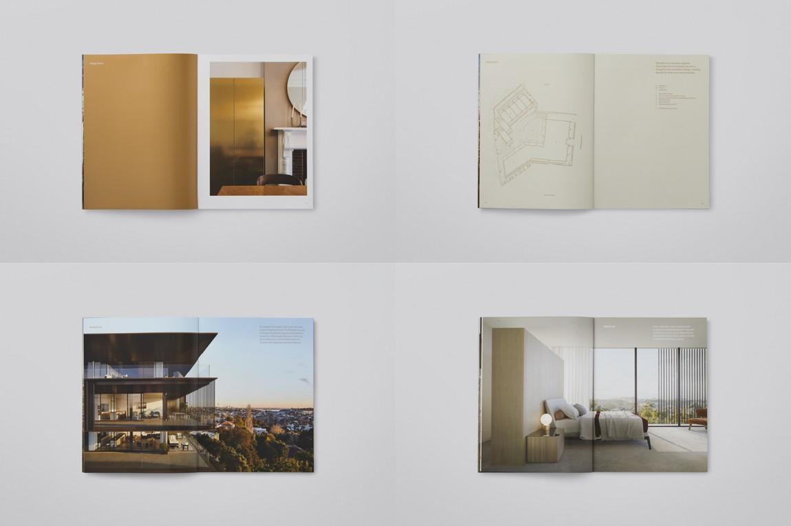 奥克兰Soto房地产vi设计,楼书设计
