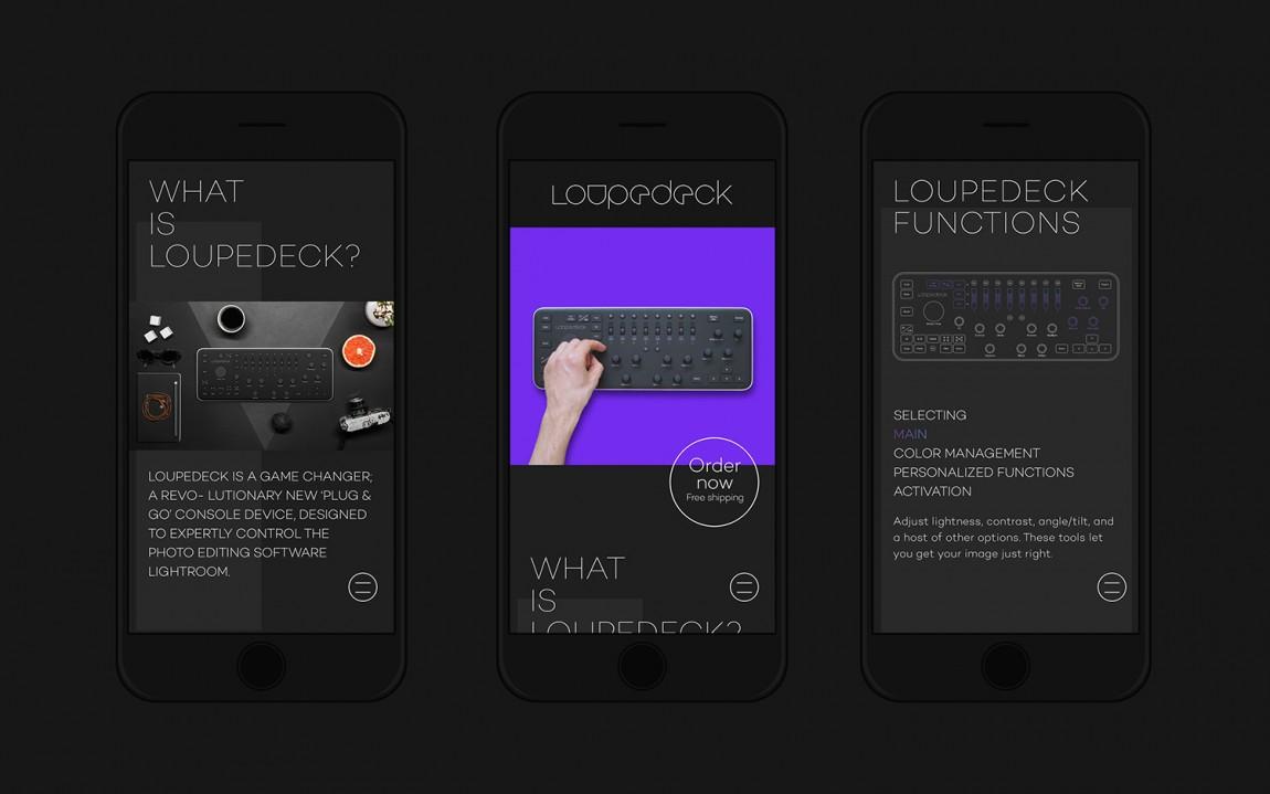 Loupedeck图形处理公司vis设计