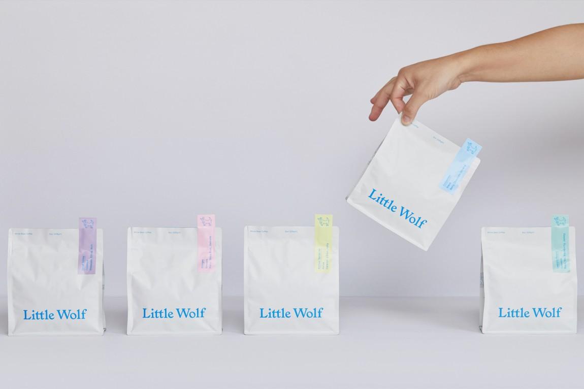 如何提升品牌形象?Little Wolf烘焙工坊咖啡馆品牌vi设计
