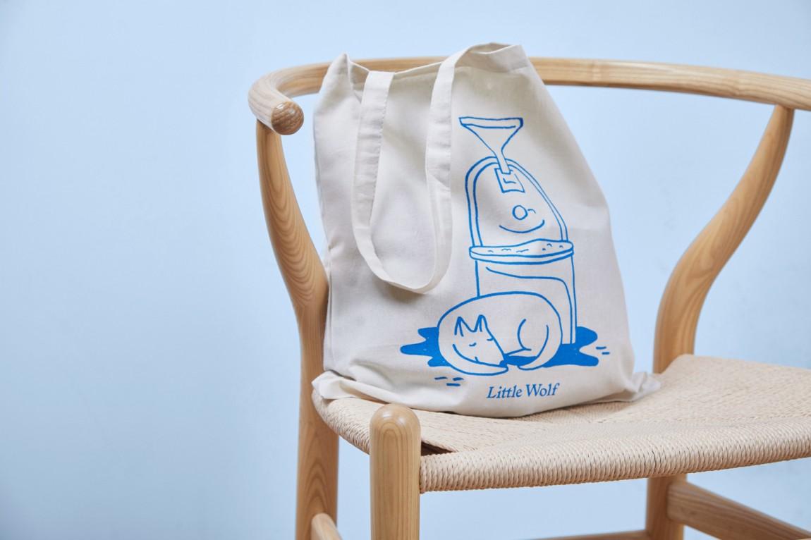 如何提升品牌形象?Little Wolf烘焙工坊咖啡馆品牌vi设计,手提袋设计