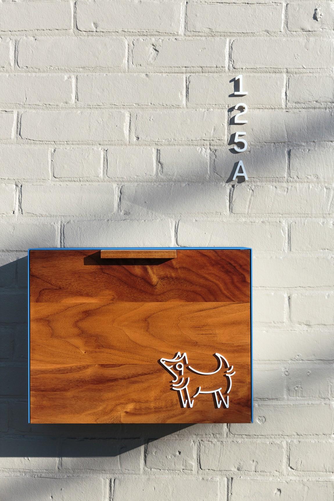 如何提升品牌形象?Little Wolf烘焙工坊咖啡馆品牌vi设计,导视系统设计