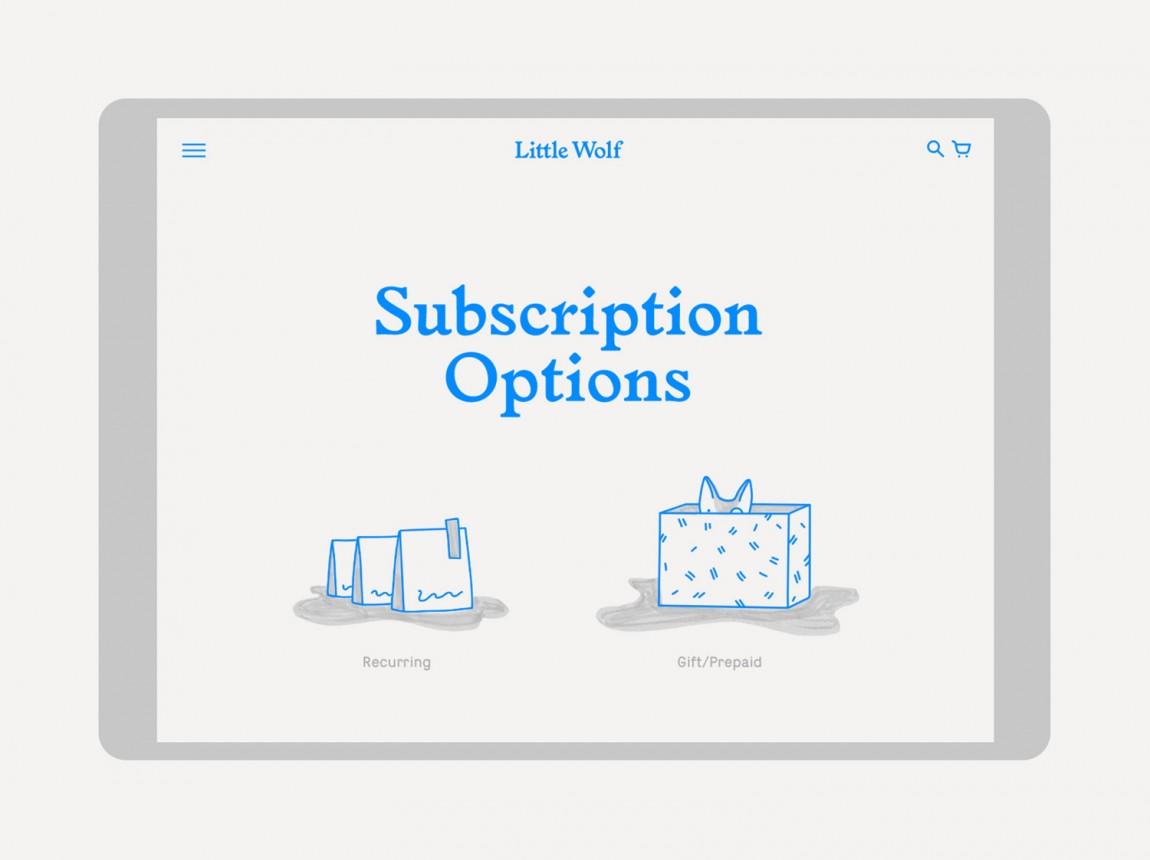 如何提升品牌形象?Little Wolf烘焙工坊咖啡馆品牌vi设计,企业网站设计