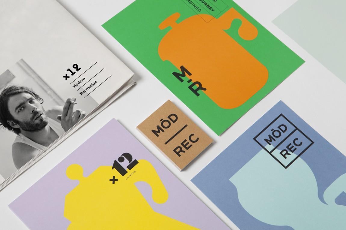 ModRec国际咖啡订阅服务品牌形象塑造设计, vis设计