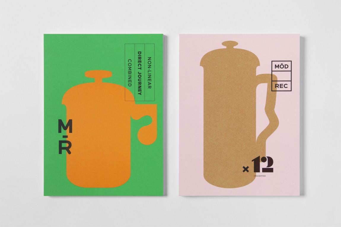 现代娱乐ModRec国际咖啡订阅服务品牌形象塑造设计, 画册设计