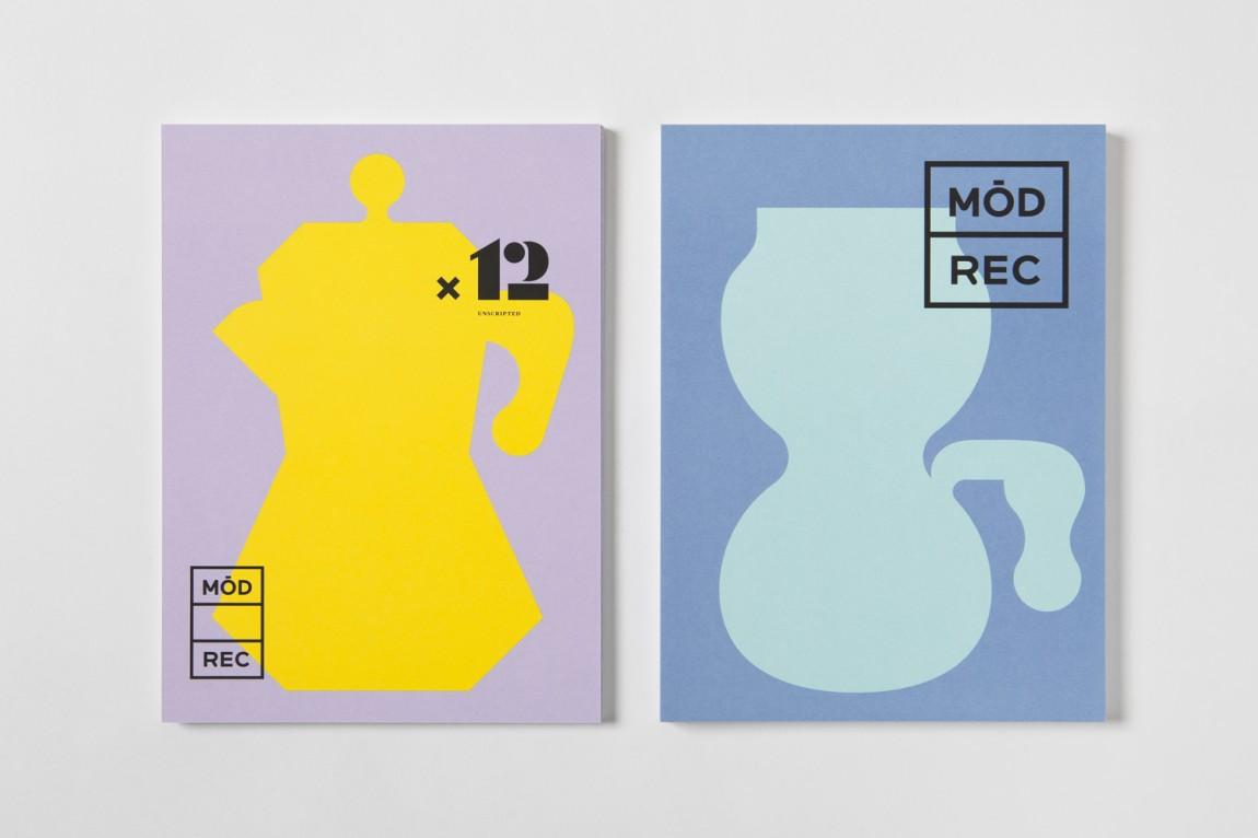 现代娱乐ModRec国际咖啡订阅服务品牌形象塑造设计, 海报设计