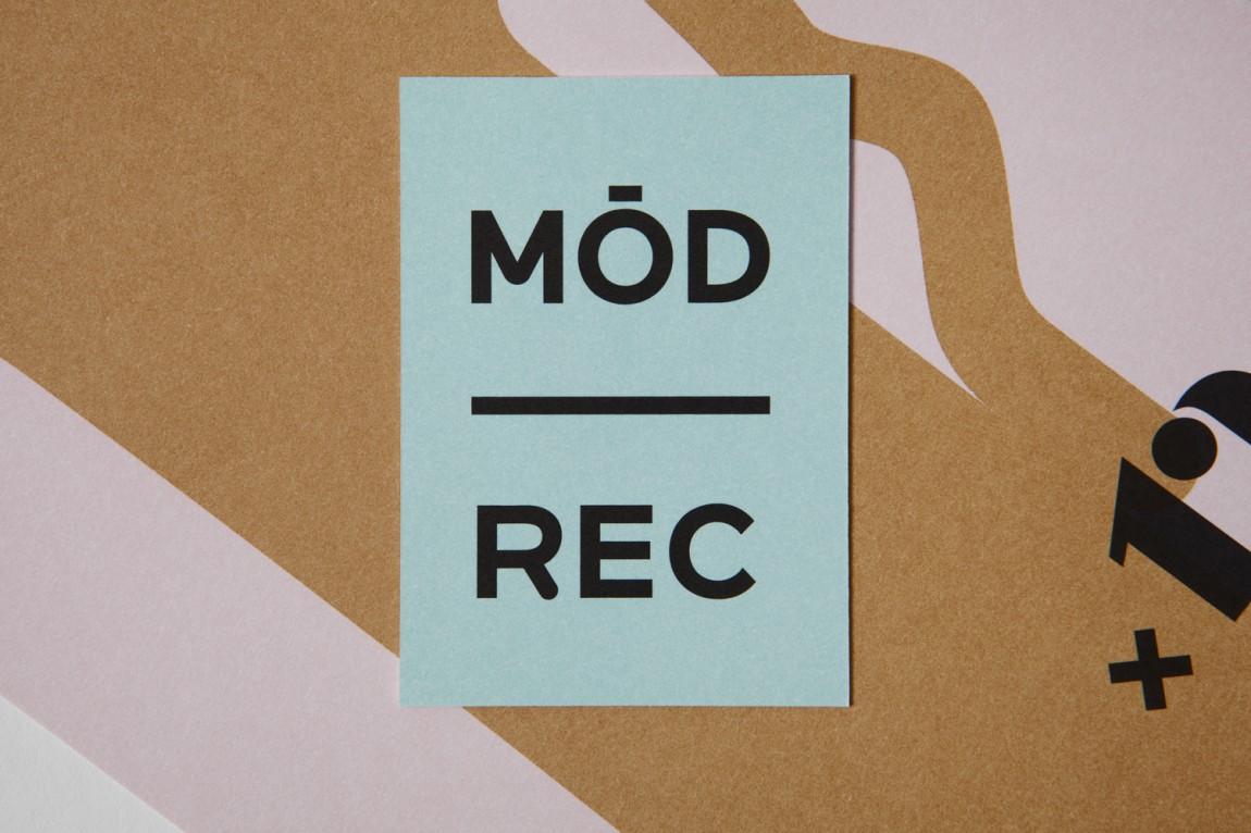 现代娱乐ModRec国际咖啡订阅服务品牌形象塑造设计,卡片设计