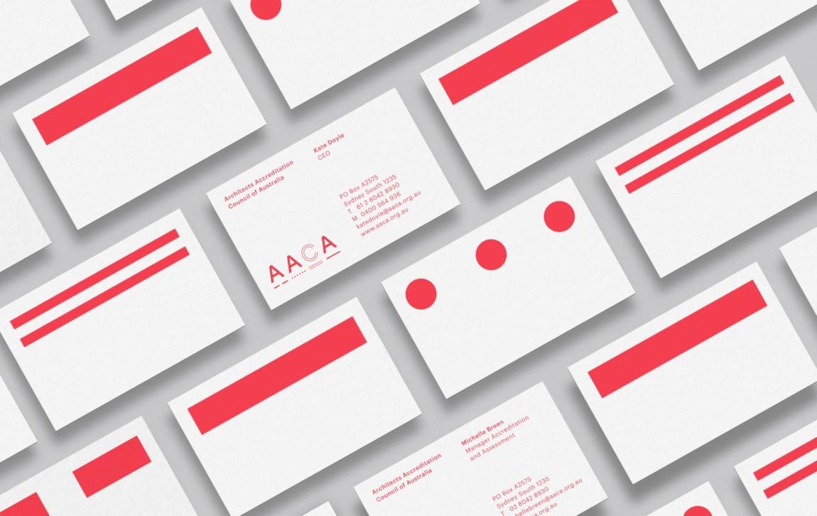建筑师注册委员会(AACA)品牌形象策略策划与设计赏析, vi设计