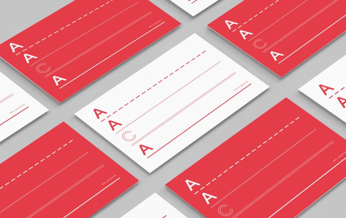 建筑师注册委员会(AACA)品牌形象策略策划与设计赏析,名片设计