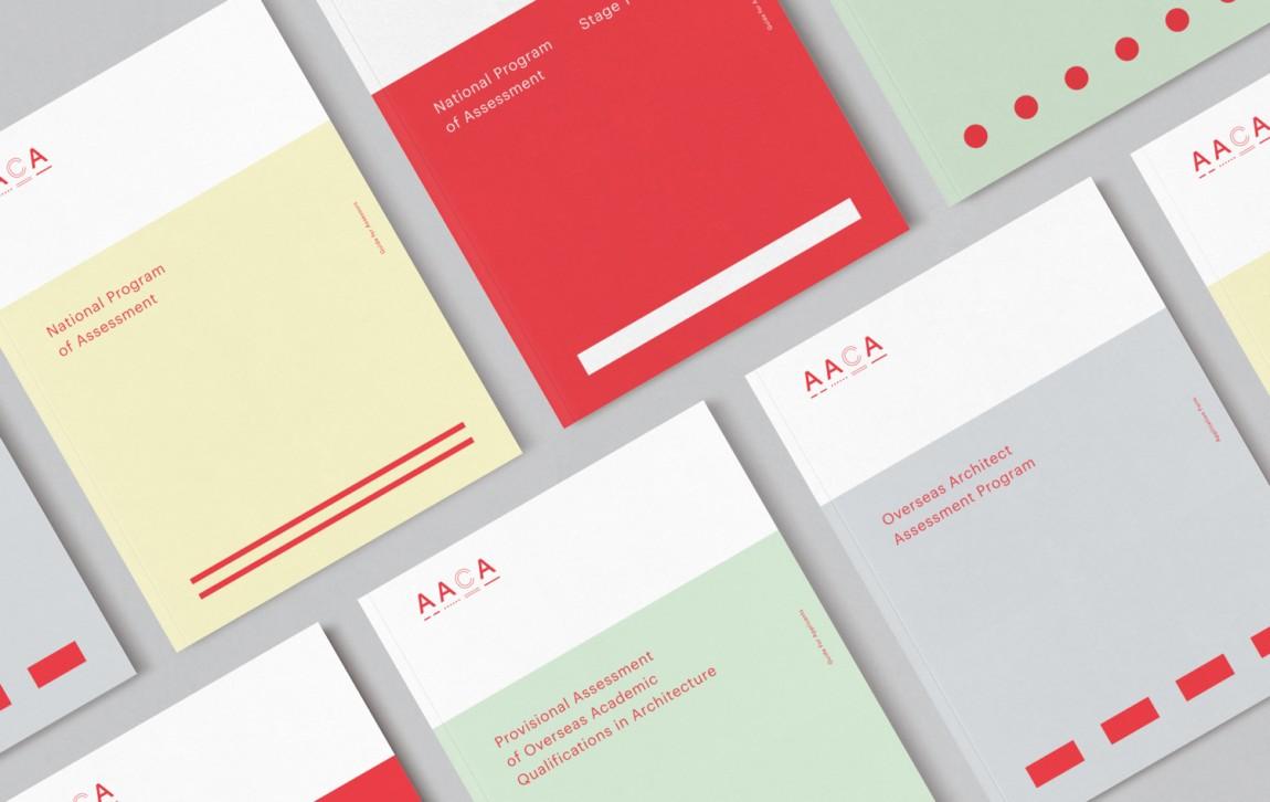 建筑师注册委员会(AACA)品牌形象策略策划与设计赏析, vis设计