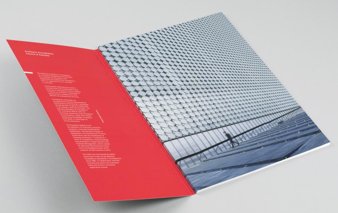 建筑师注册委员会(AACA)品牌形象策略策划与设计赏析, 企业画册设计