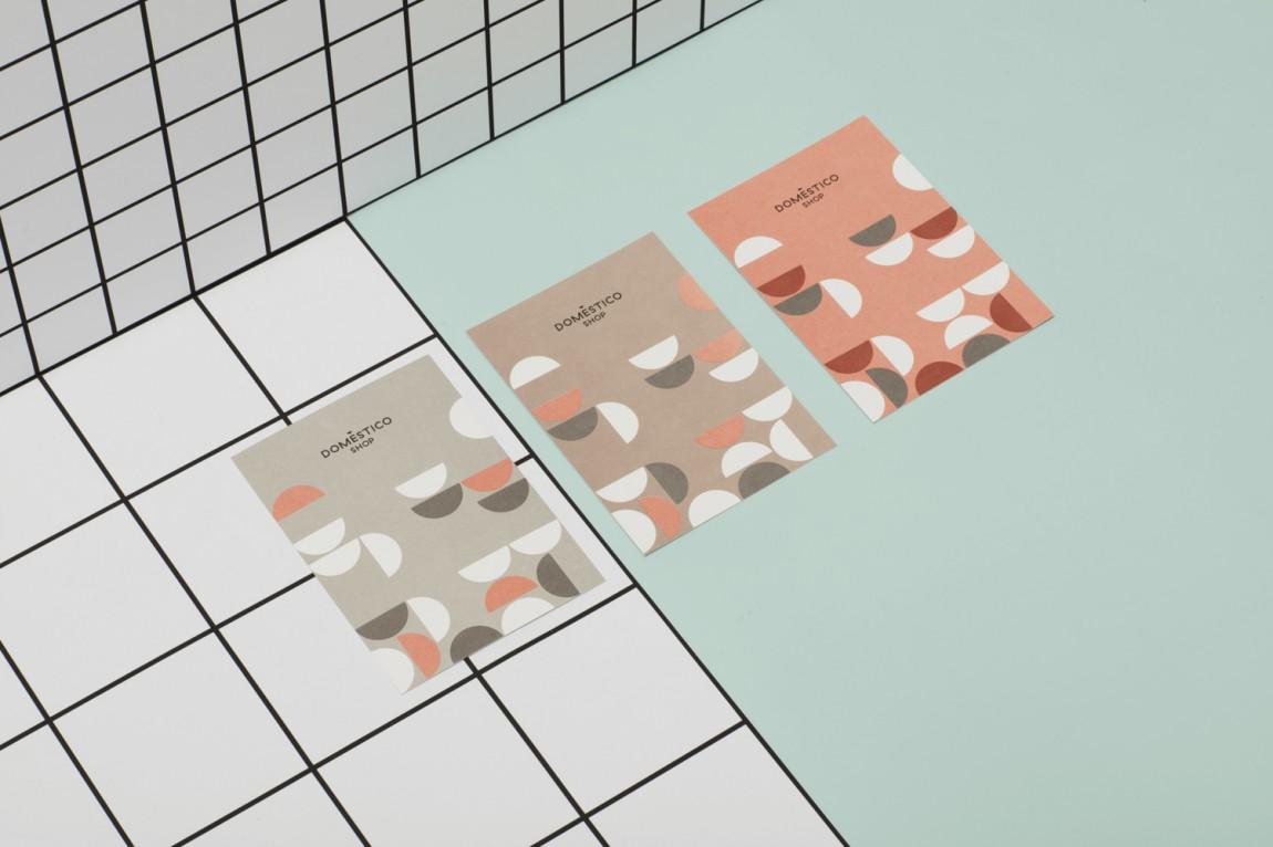 DomesticoShop在线零售家居领导品牌vi形象设计,海报设计