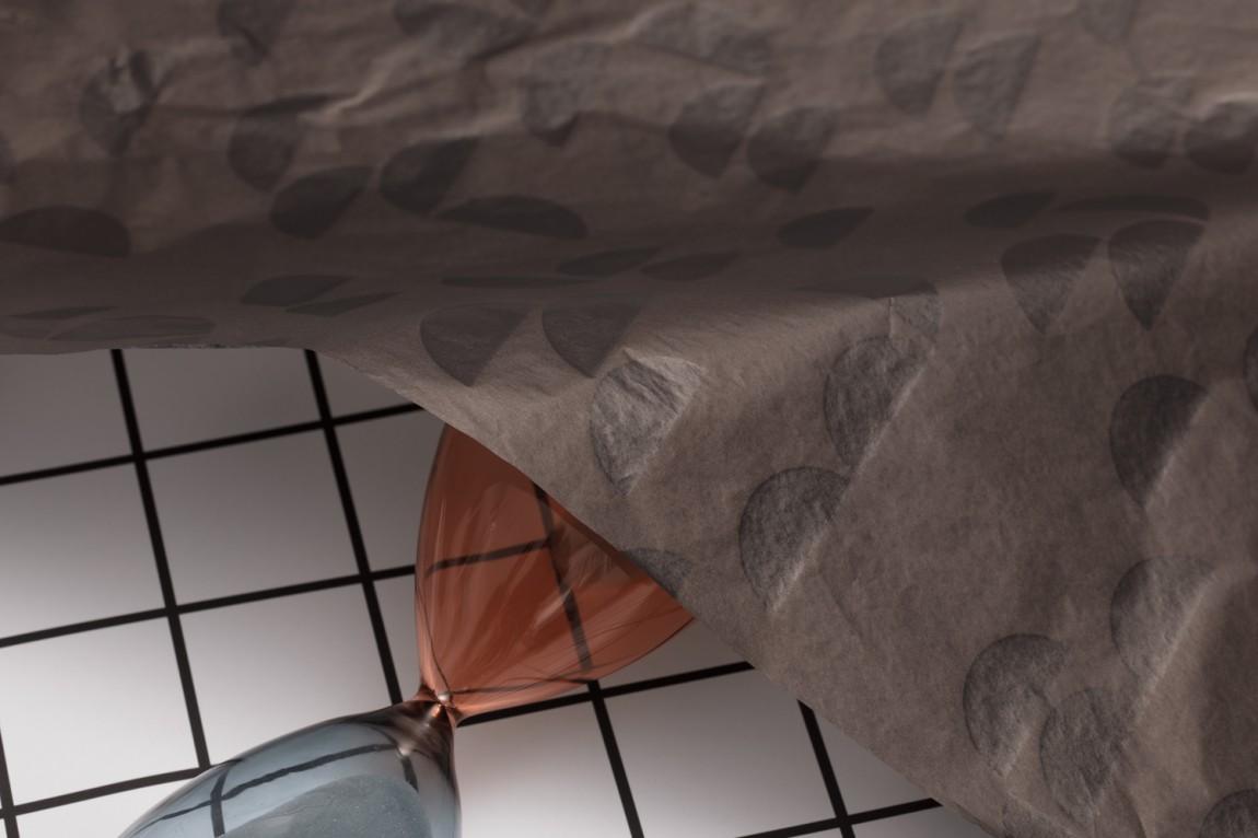 DomesticoShop在线零售家居领导品牌vi形象设计,包装纸设计