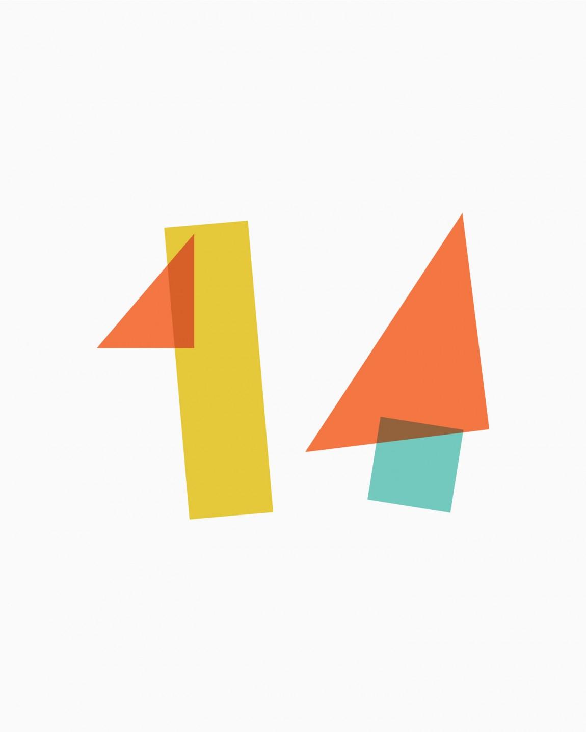 14 Islands数字开发公司企业品牌设计,图形logo设计