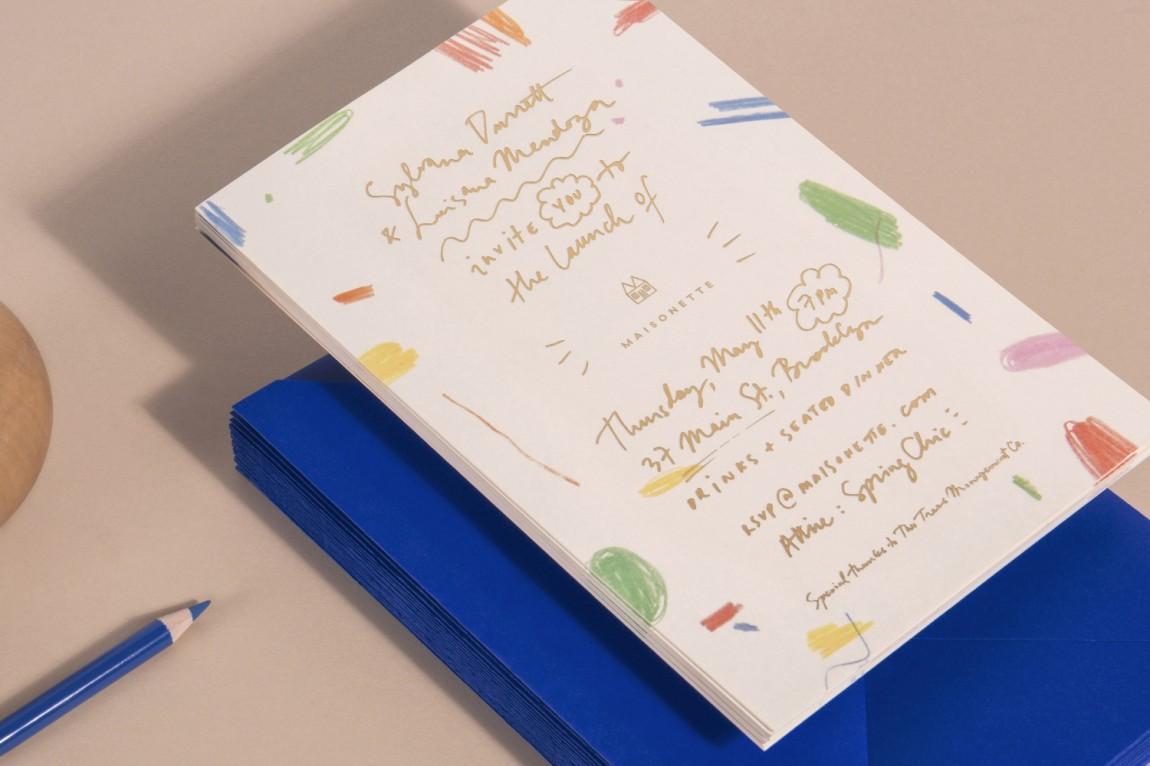 Maisonette儿童奢侈品牌在线零售商企业形象包装设计, vi设计