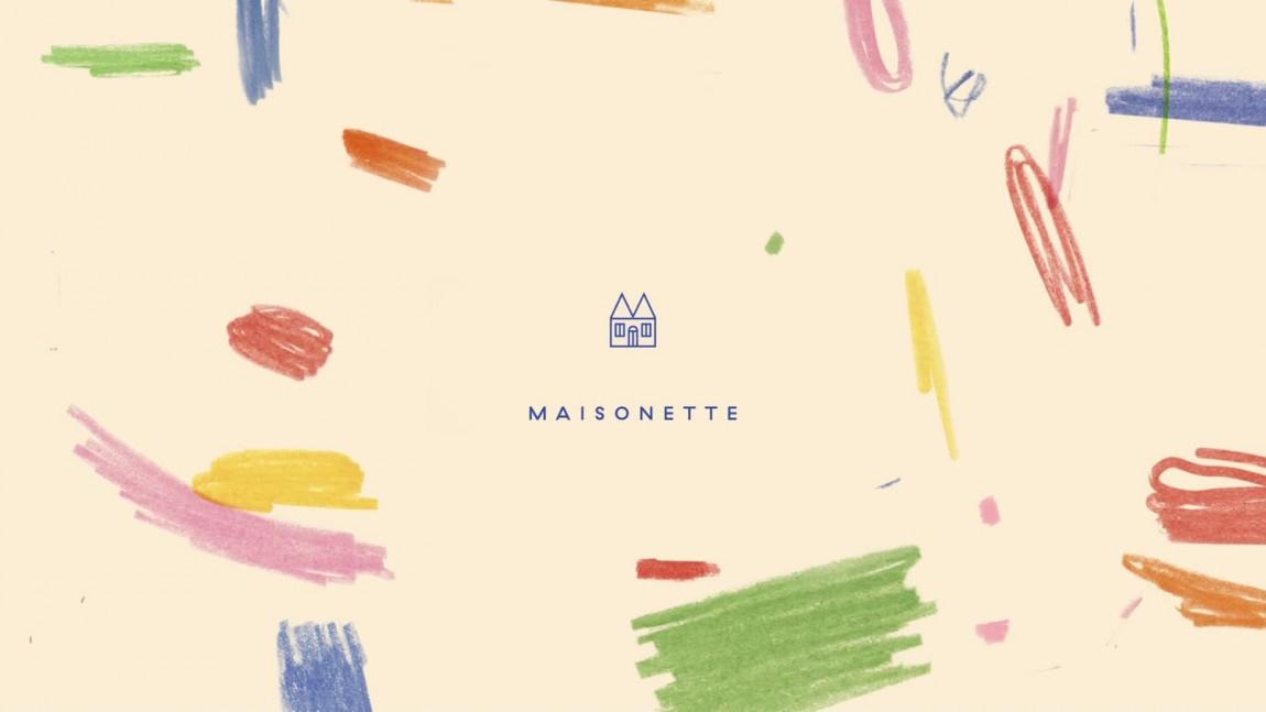 Maisonette儿童奢侈品牌在线零售商企业形象包装设计,logo设计