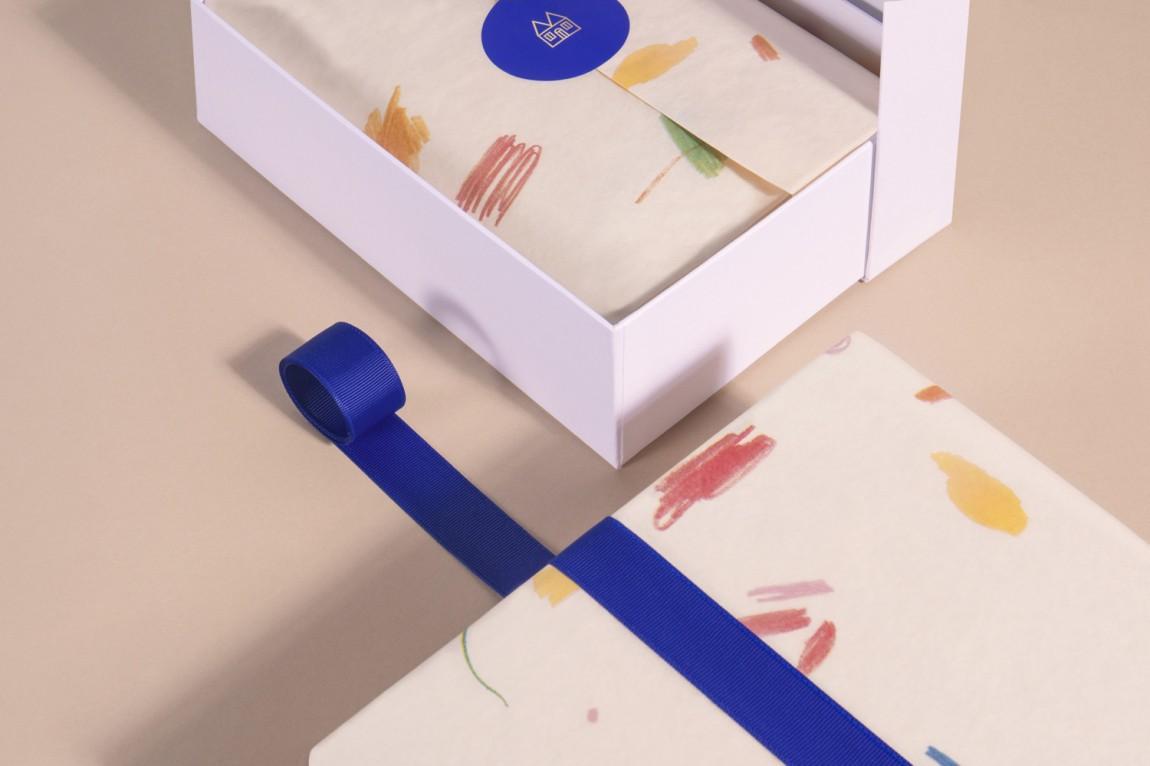 Maisonette儿童奢侈品牌在线零售商企业形象包装设计,包装盒设计