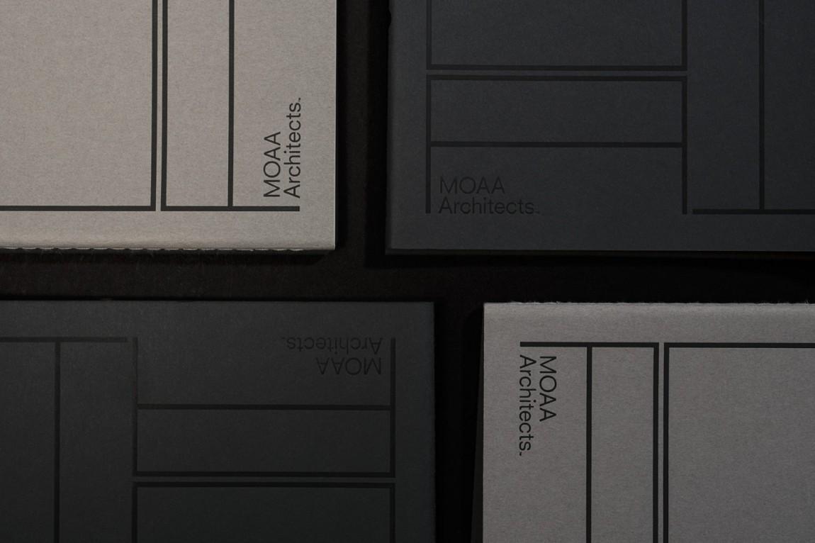 MOAA Architects建筑空间企业形象设计, VI设计