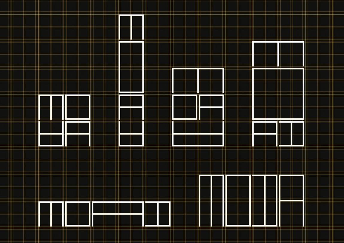MOAA Architects建筑空间企业形象设计, logo创意设计
