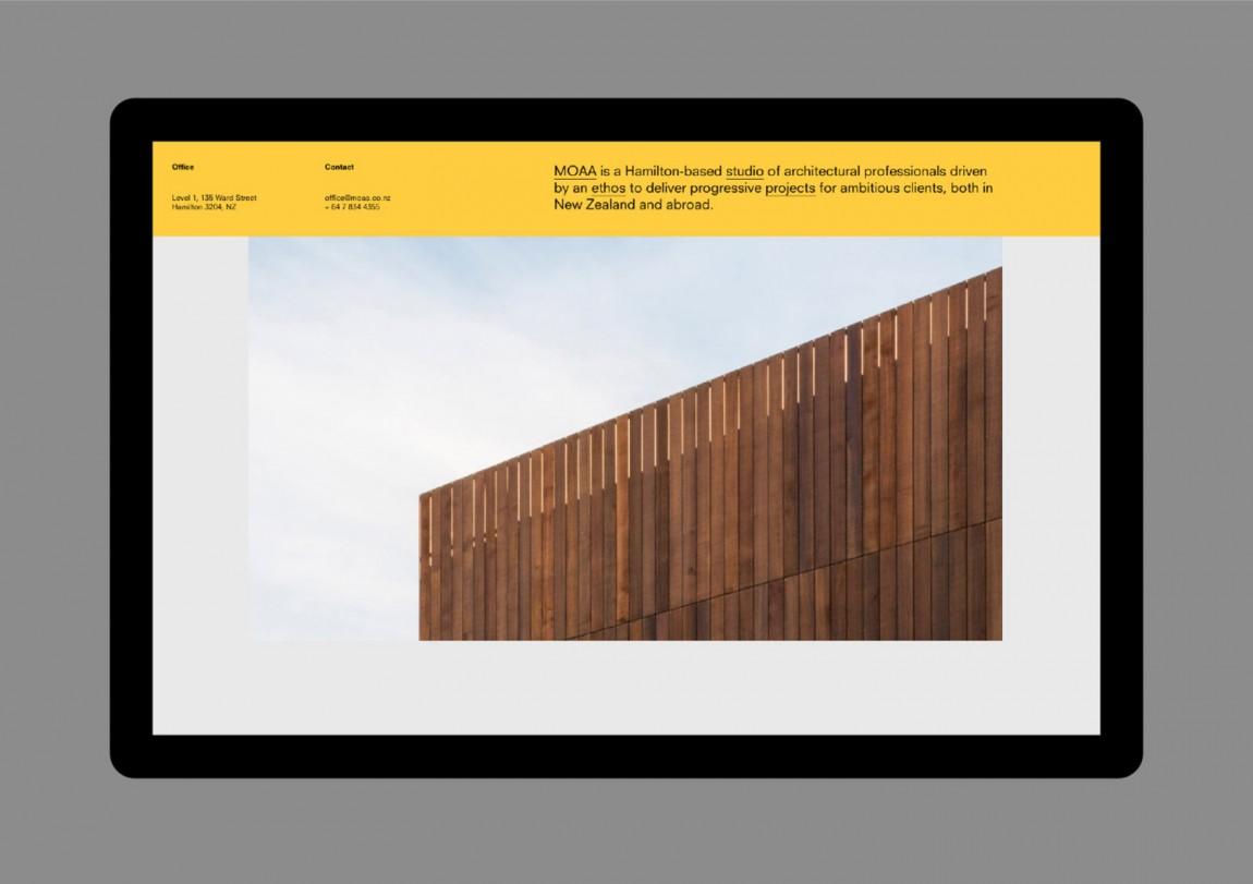 MOAA Architects建筑空间企业形象设计,