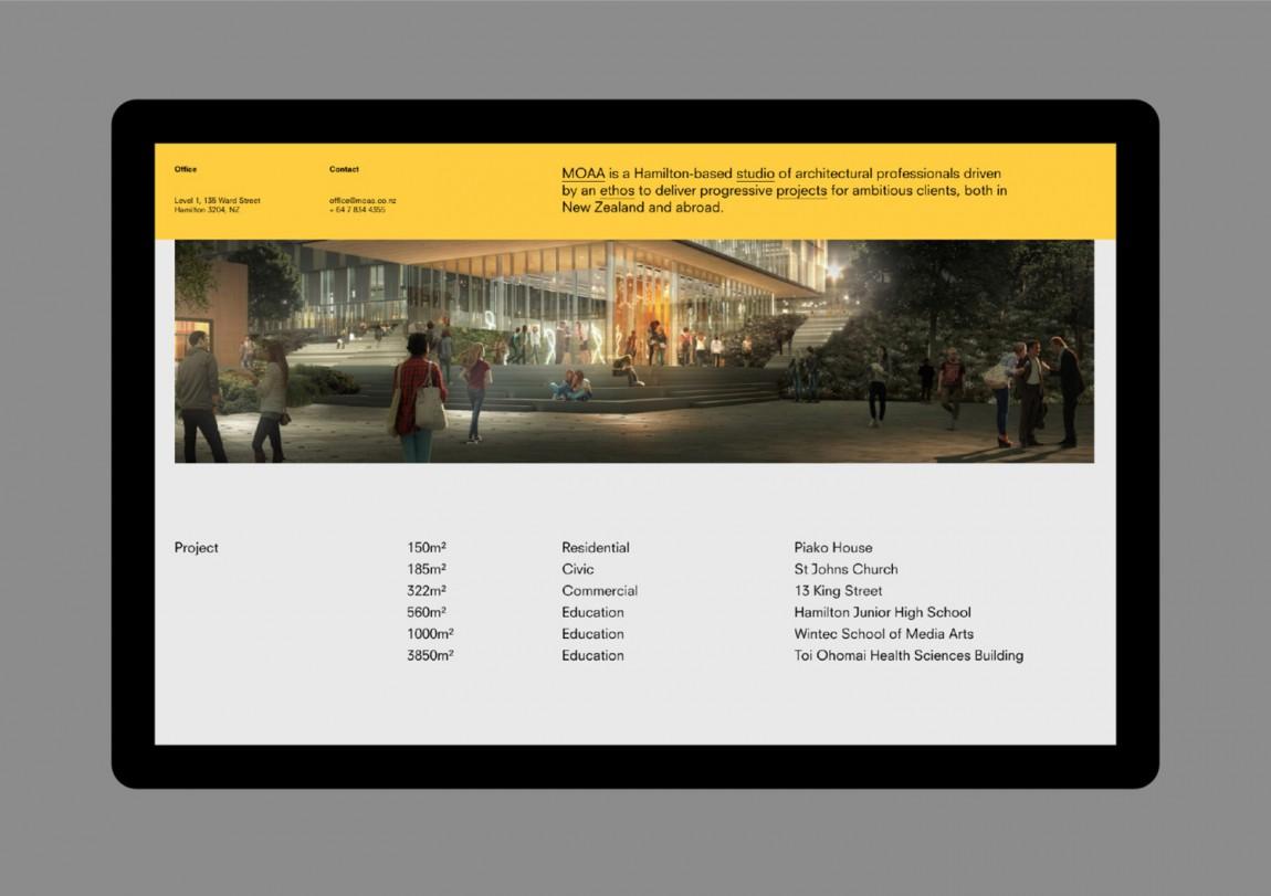 MOAA Architects建筑空间企业形象设计