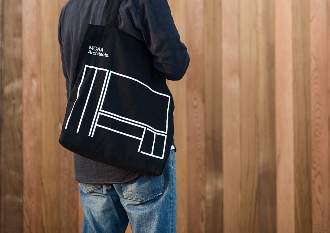 MOAA Architects建筑空间企业形象设计, 手提袋设计