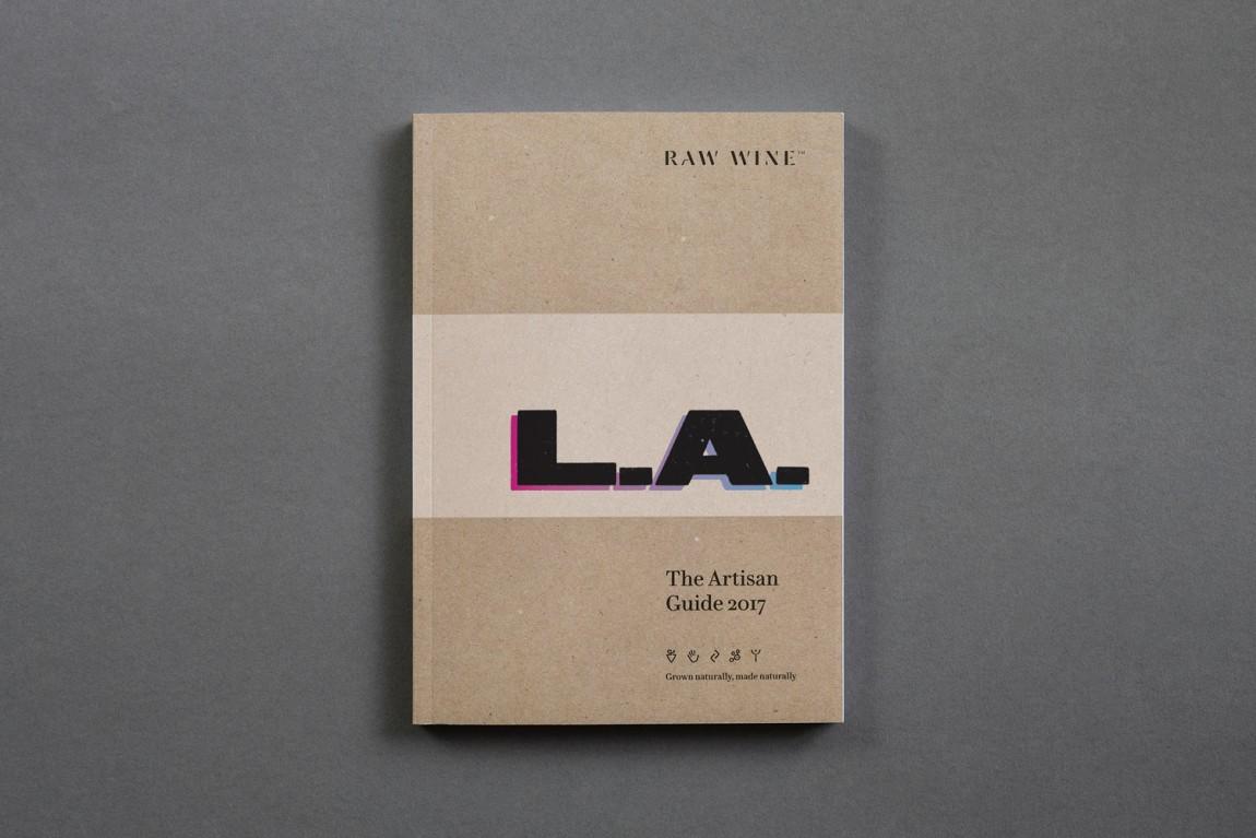 Raw Wine葡萄酒交易会品牌形象塑造,精心制作并充满个性,画册设计