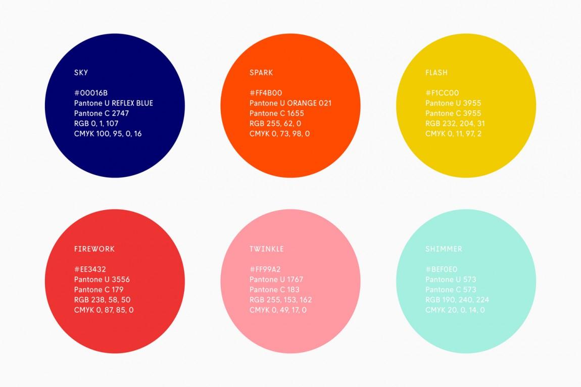 Helio联合办公空间企业形象设计,企业颜色设计