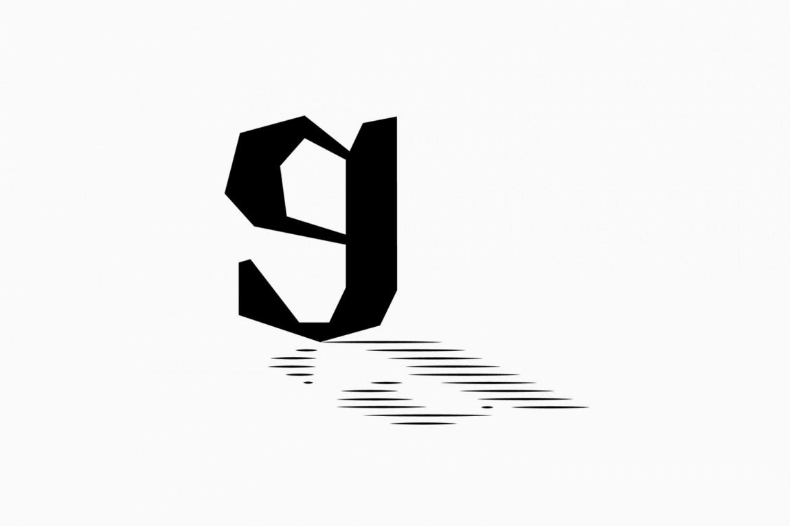 Gustav Almestål摄影公司视觉形象设计, 图形标志设计