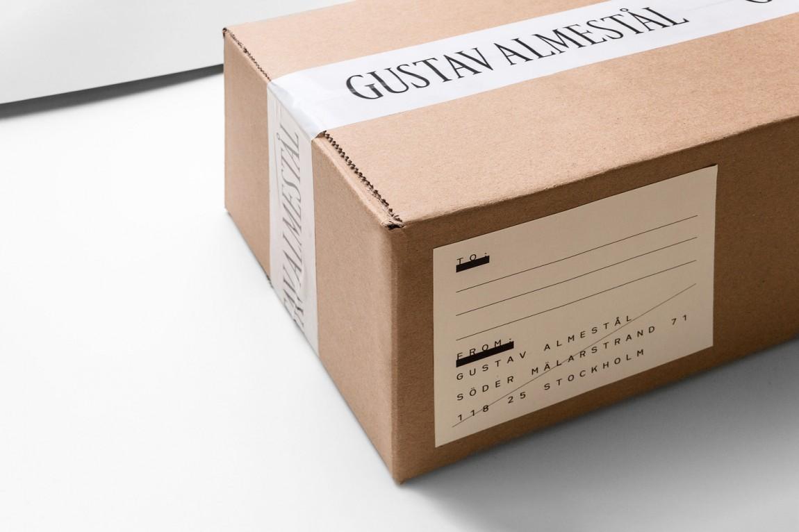 Gustav Almestål摄影公司视觉形象设计,包装设计