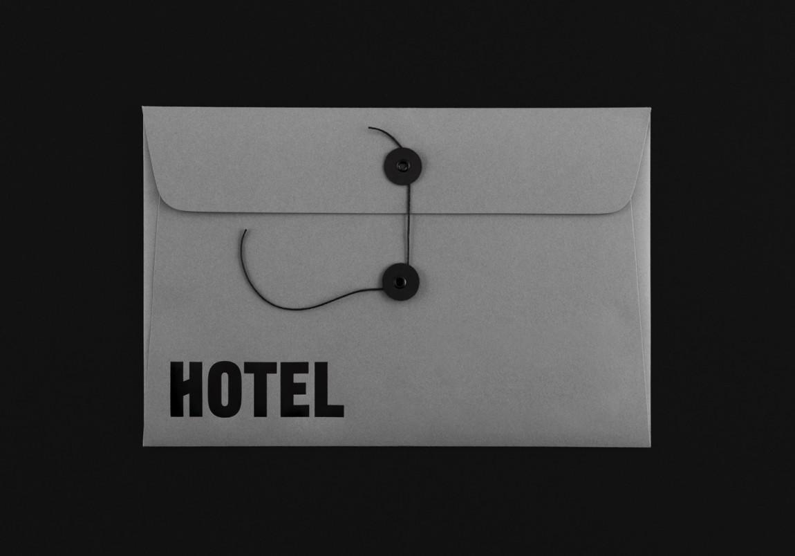 多伦多The Broadview酒店vi设计, 文件袋设计