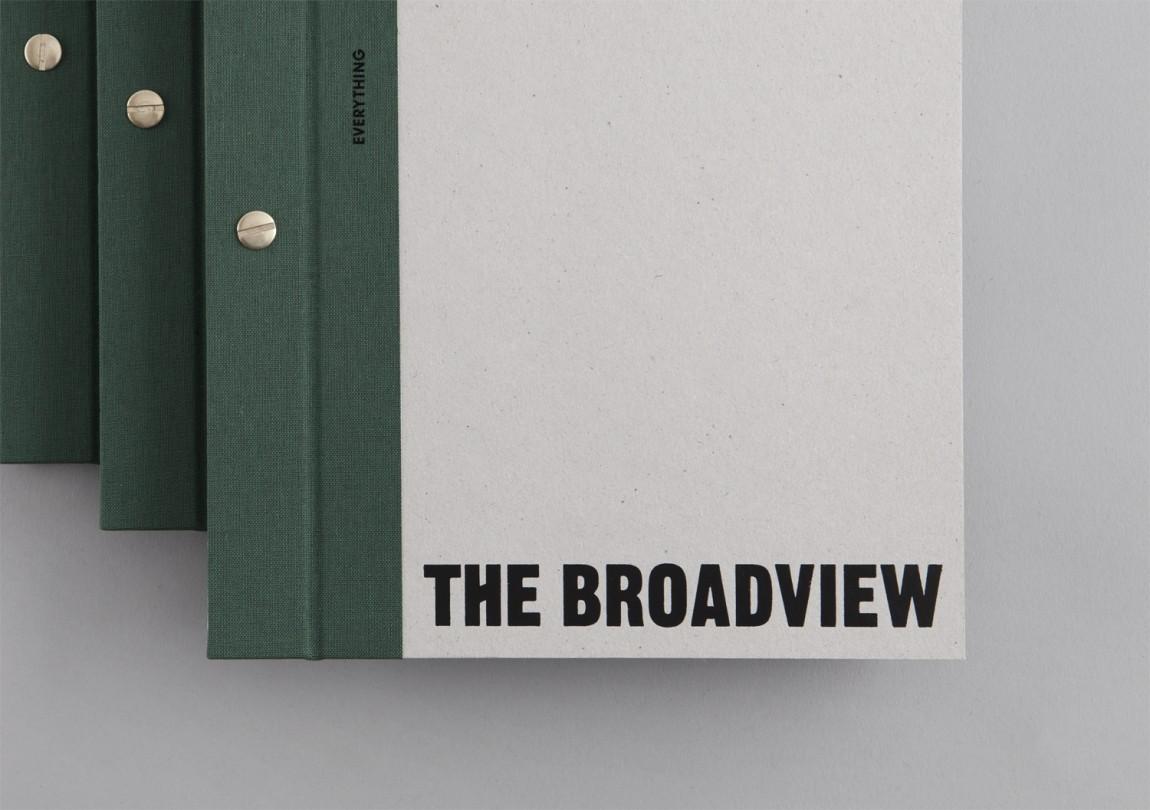 多伦多The Broadview酒店vi设计,