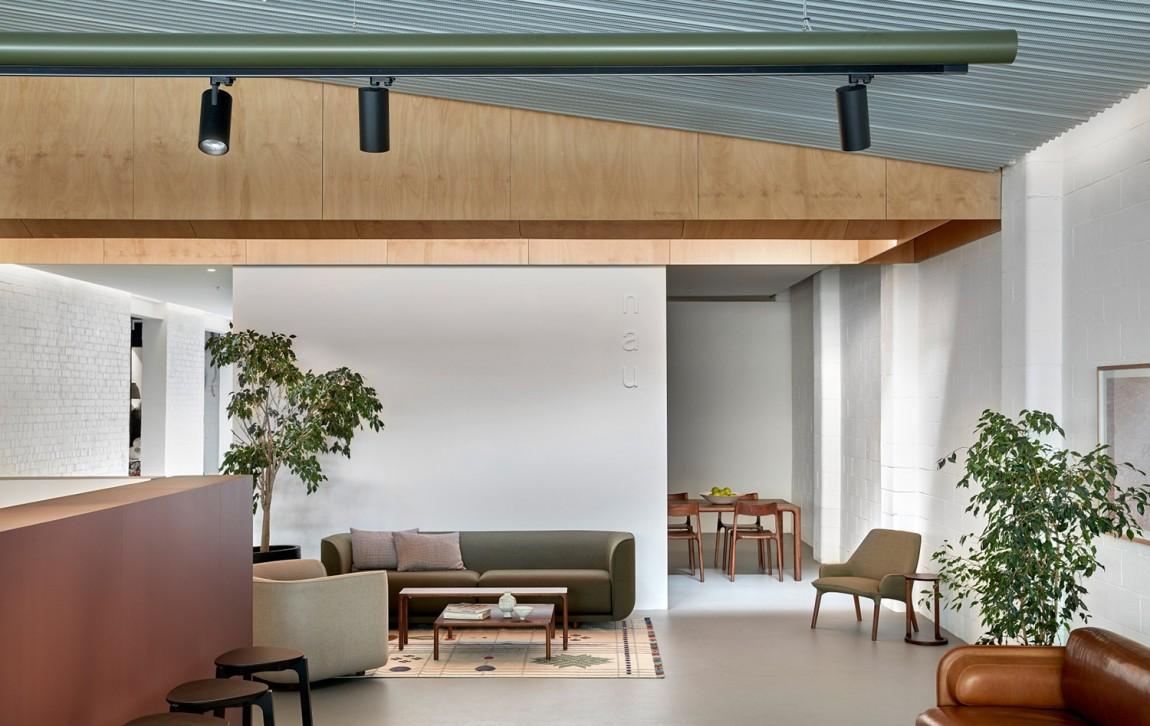 澳大利亚NAU家具品牌vi设计,国际大牌的有趣表达,空间设计