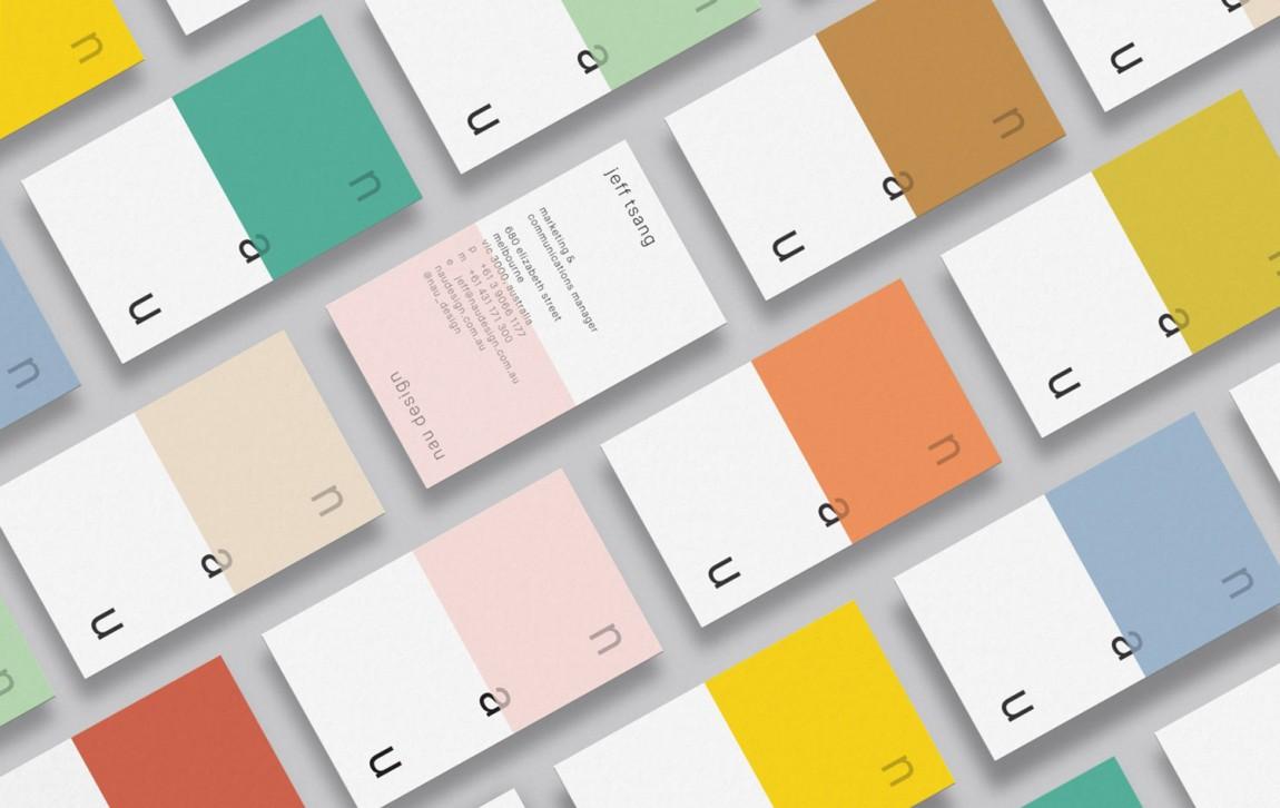 澳大利亚NAU家具品牌vi设计,国际大牌的有趣表达, 办公应用设计