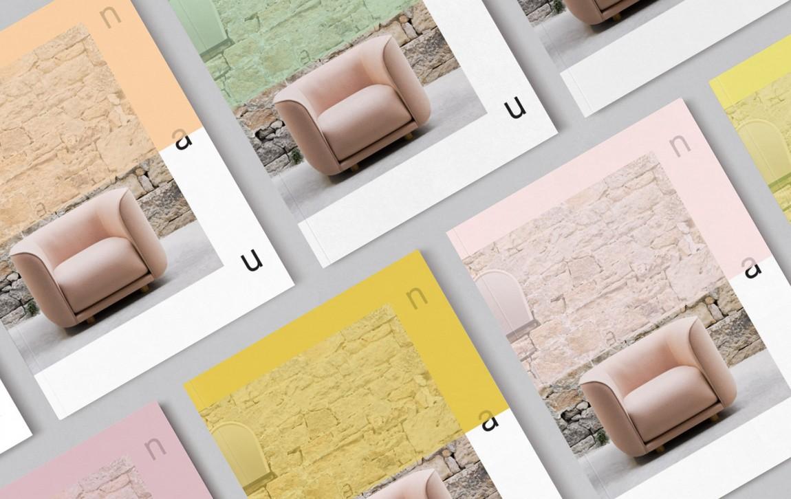 澳大利亚NAU家具品牌vi设计,国际大牌的有趣表达, 海报设计