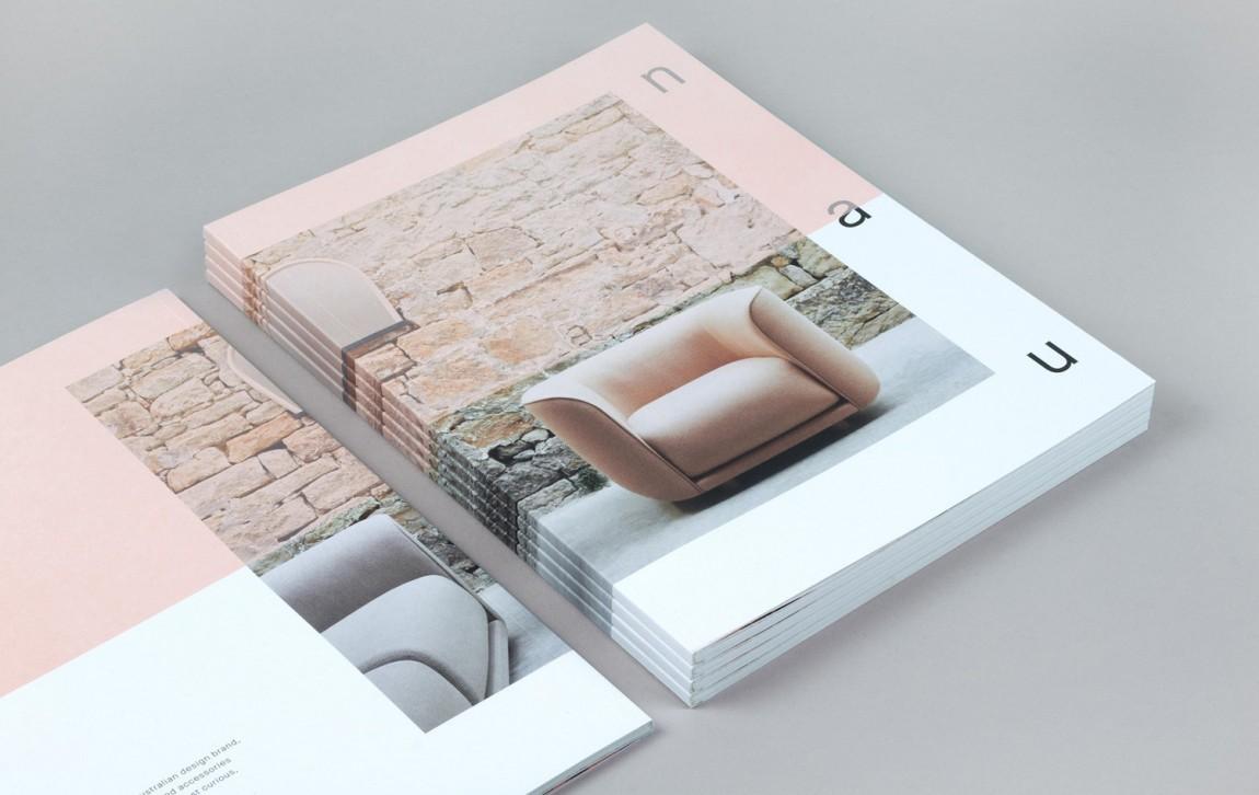 澳大利亚NAU家具品牌vi设计,国际大牌的有趣表达, 书籍设计