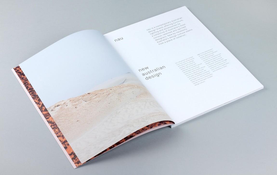澳大利亚NAU家具品牌vi设计,国际大牌的有趣表达, 画册设计