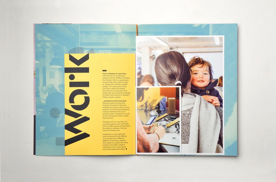 Campus整体形象设计,热闹与繁杂之美,画册设计