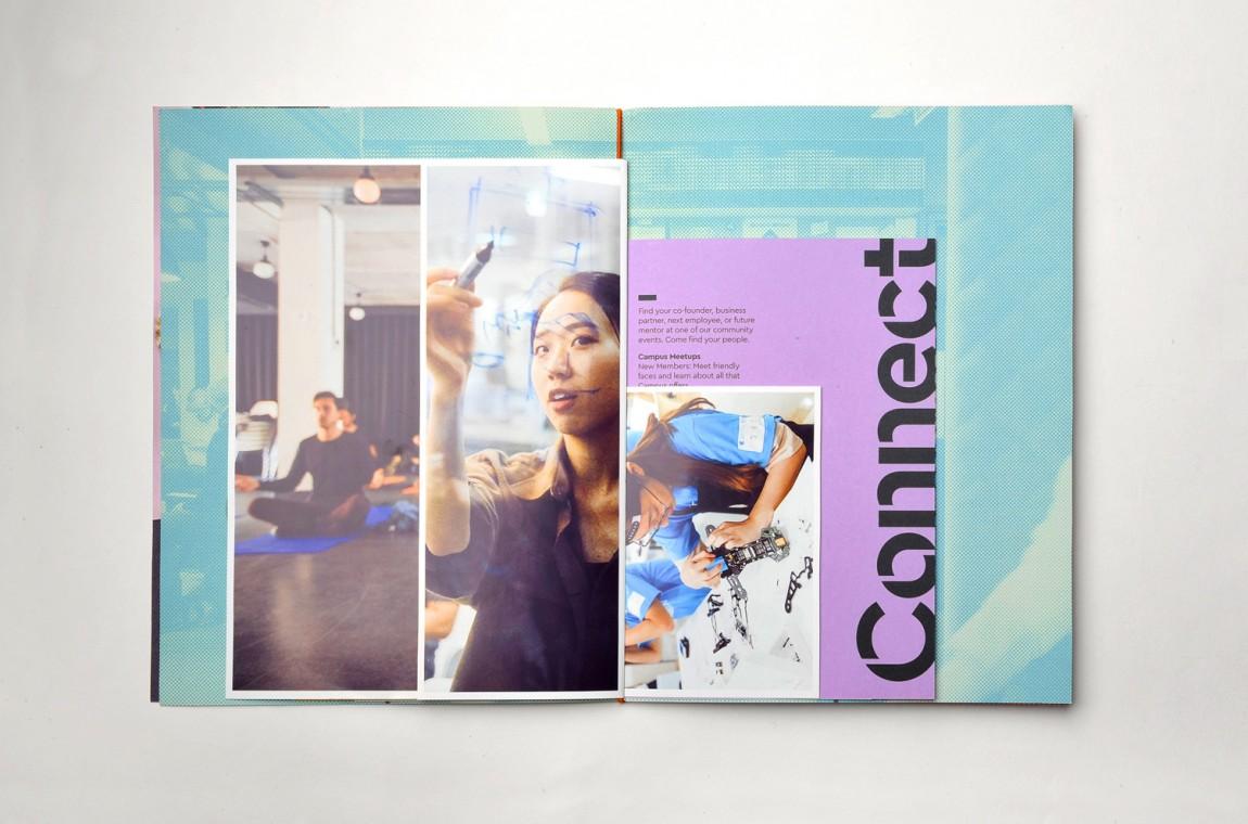 Campus整体形象设计,热闹与繁杂之美,宣传册设计