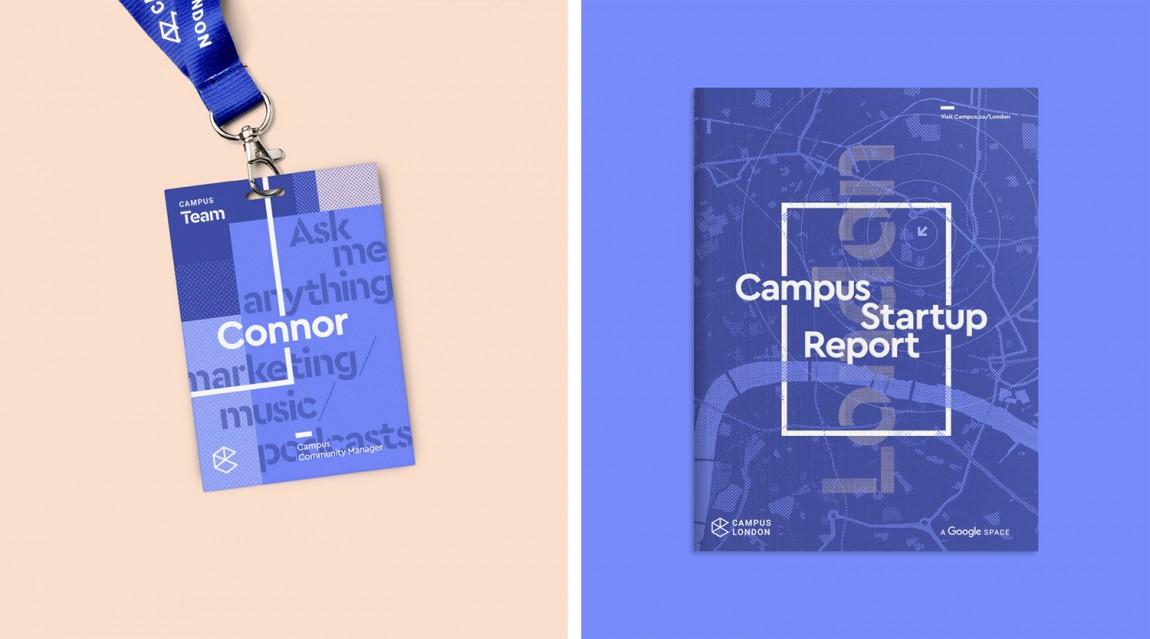 Campus整体形象设计,热闹与繁杂之美, 吊牌设计