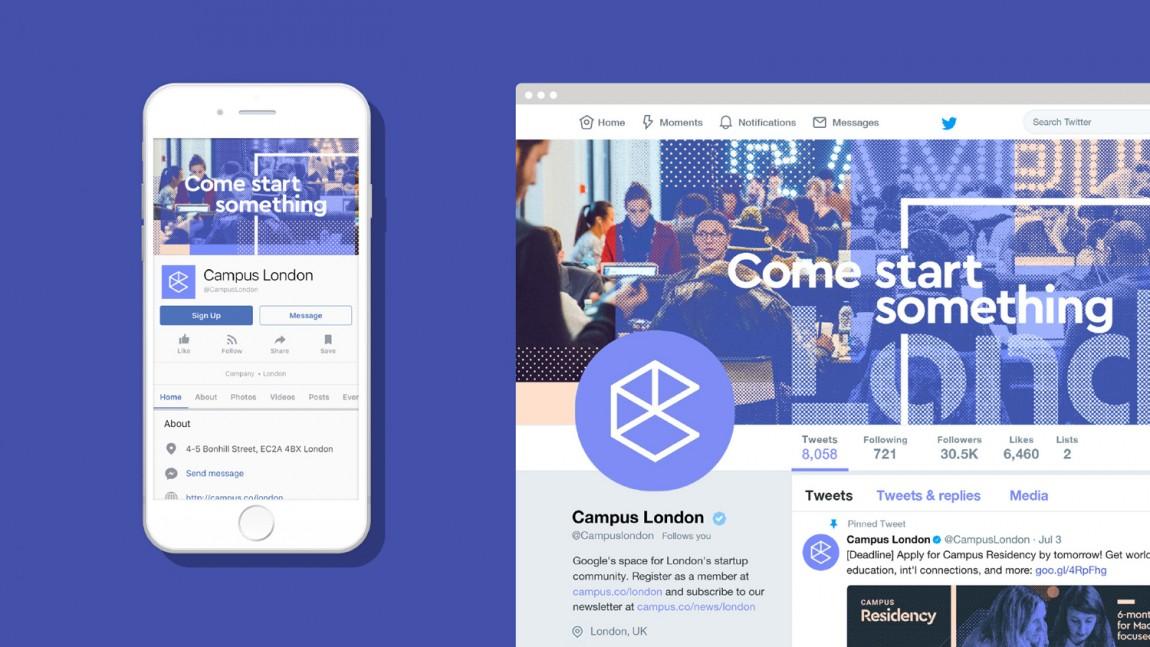 Campus整体形象设计,热闹与繁杂之美,网站设计