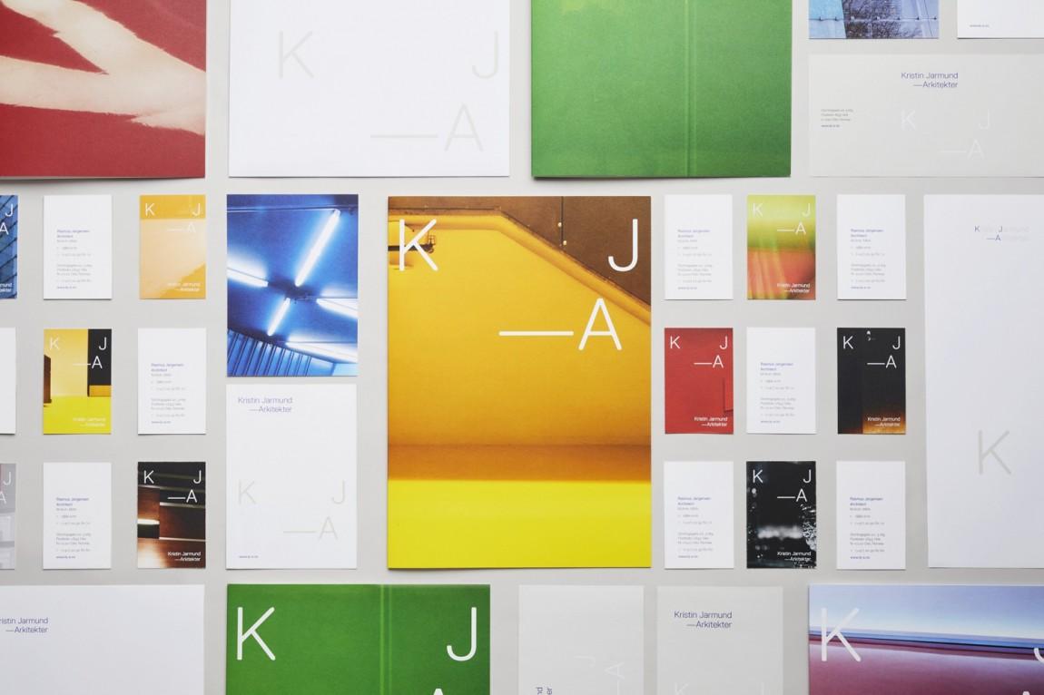 Kristin Jarmund公司vi设计